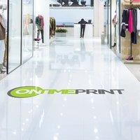 Floor vinyl Stickers Printing UK, Next Day Delivery - www.ontimeprint.co.uk