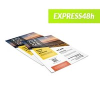 Cheap UK Printing Flyers and Leaflets www.ontimeprint.co.uk