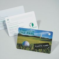 Personalised Plastic Cards, numbering, barcodes, signature strip, double sided, www.ontimeprint.co.uk