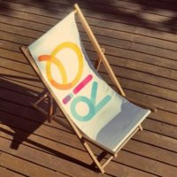 Printed Deck Chair Printing UK, Next Day Delivery - www.ontimeprint.co.uk