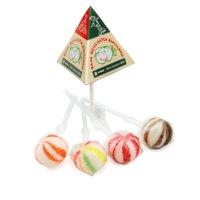 Custom printed pyramid lollipops, www.ontimeprint.co.uk