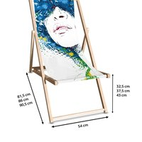 Bespoke Deck Chair Printing UK, Next Day Delivery - www.ontimeprint.co.uk