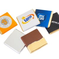 Personalised Belgian Chocolates 4.5f, full colour print- www.ontimeprint.co.uk