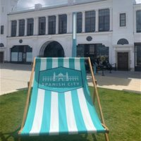 Branded Giant Deckchair Printing UK, Next Day Delivery - www.ontimeprint.co.uk