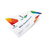 Compliment Slips Printing UK, Next Day Delivery - www.ontimeprint.co.uk