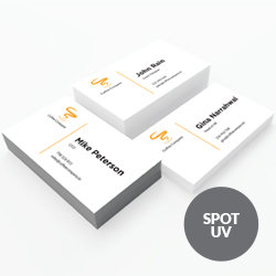 Business Cards with Spot UV Printing UK, Next Day Delivery - www.ontimeprint.co.uk