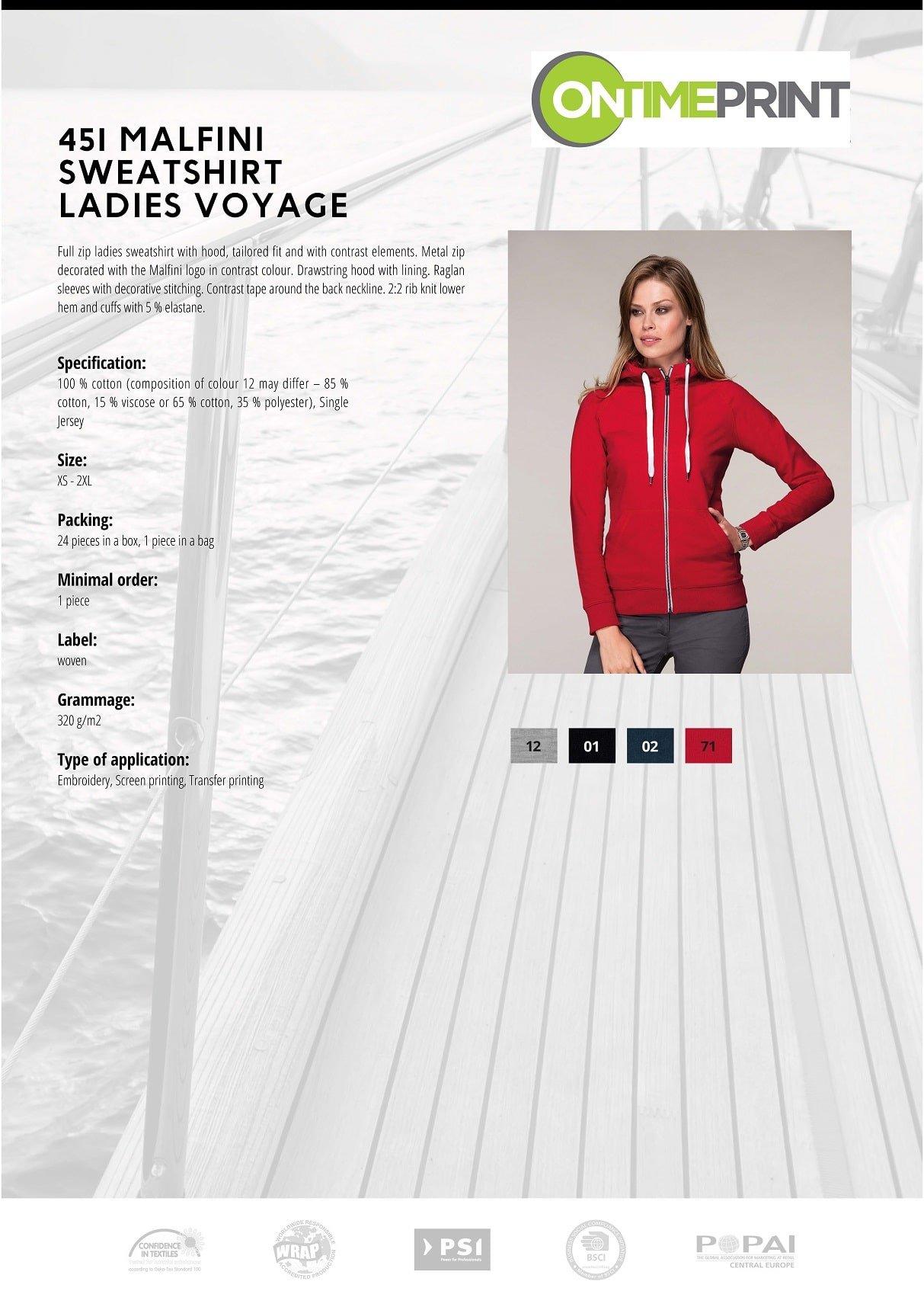 Ladies Premium Sweatshirt 451