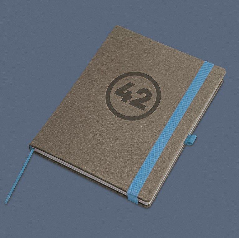 Bespoke Hardcover Elegant Notebook/ Diary