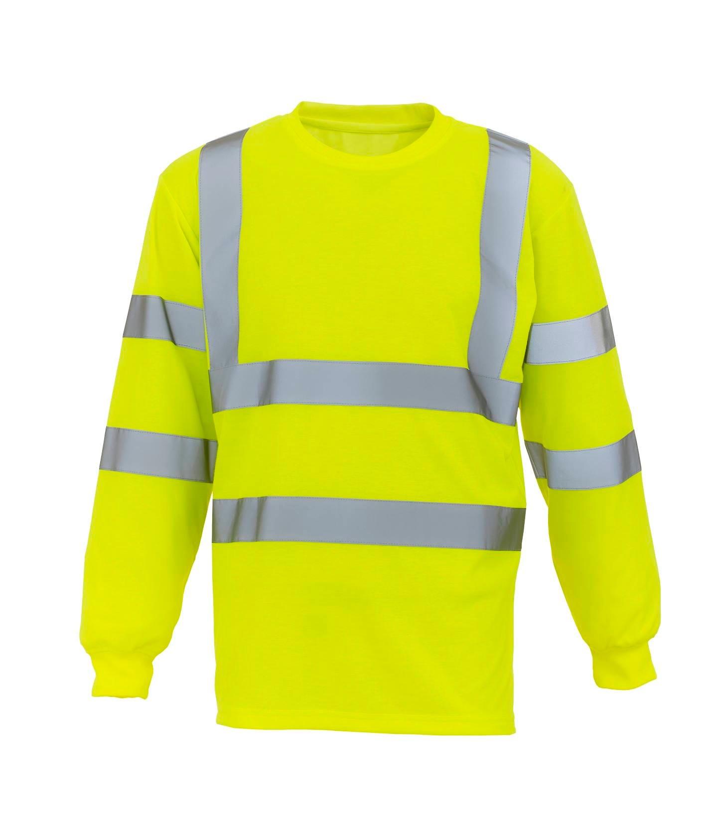 Hi-Vis Long Sleeve T-shirt (HVJ420)