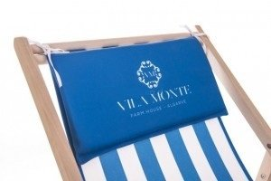 Printed Deck Chair Pillow Printing UK, Next Day Delivery - www.ontimeprint.co.uk