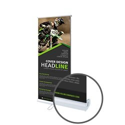 Economy Roller Banners 800x2000mm Printing UK, Next Day Delivery - www.ontimeprint.co.uk