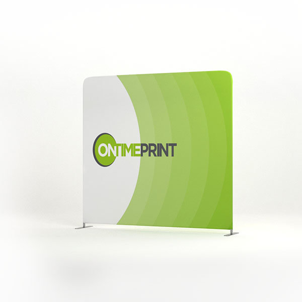 Presto Straight Fabric Display Printing UK, Next Day Delivery - www.ontimeprint.co.uk