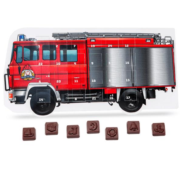 Fire Truck Advent Calendar- www.ontimeprint.co.uk