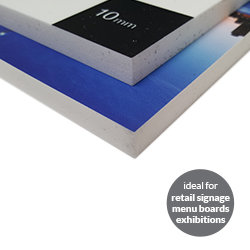 Cut to shape Foamex ideal Printing UK, Next Day Delivery - www.ontimeprint.co.uk