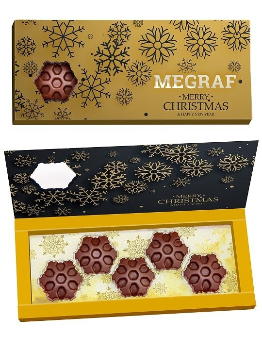 Chocolate Snowflake Set