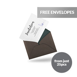 invitations with envelopes Printing UK, Next Day Delivery - www.ontimeprint.co.uk