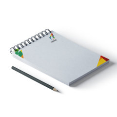 Spiral Bound Notepads Printing UK, Next Day Delivery - www.ontimeprint.co.uk