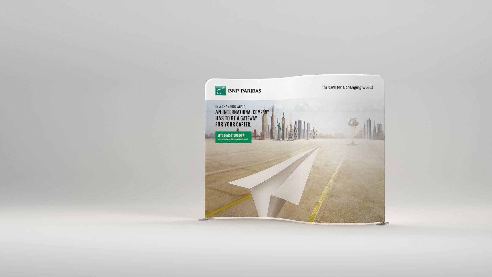 Presto serpentine event Fabric Display  Printing UK, Next Day Delivery - www.ontimeprint.co.uk