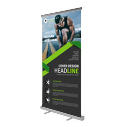 Economy Roller Banners - ROLLUP Printing UK, Next Day Delivery - www.ontimeprint.co.uk