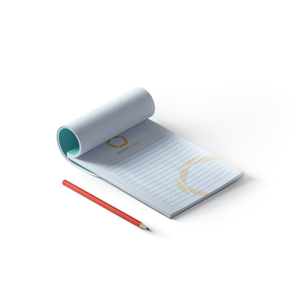 Notepads with glue binding, remium quality Printing UK, Next Day Delivery - www.ontimeprint.co.uk
