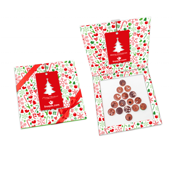 Custom Printed Choco Christmas Box, www.ontimeprint.co.uk