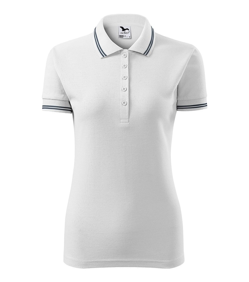 2db24f403 Custom Embroidered Promotional white Ladies Polo Shirts 220 cheap printing  UK www.ontimeprint.co ...