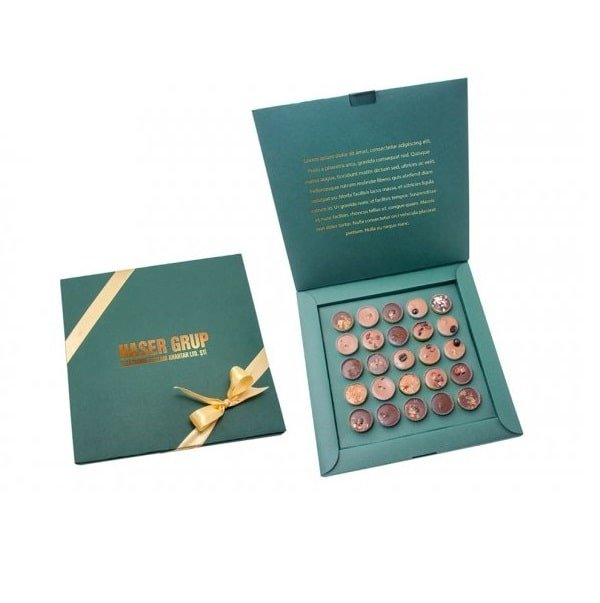Bespoke Printed Choco Elegance Christmas Box- great idead for Christmas gift. www.ontimeprint.co.uk