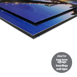 Dibond Boards ideal Printing UK, Next Day Delivery - www.ontimeprint.co.uk