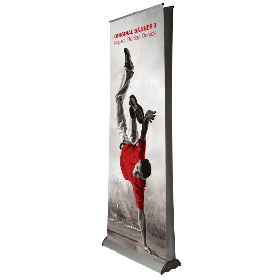 Double Sided Roller banner Printing UK, Next Day Delivery - www.ontimeprint.co.uk