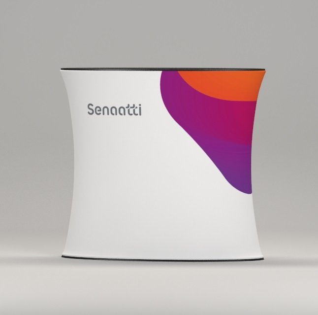 Fabric Oval Promotional Counter, www.ontimeprint.co.uk