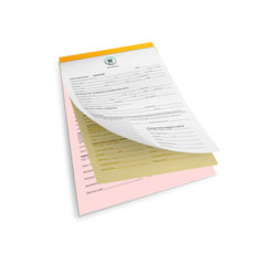 NCR Pads- Carbon Copy Pads Printing UK, Next Day Delivery - www.ontimeprint.co.uk