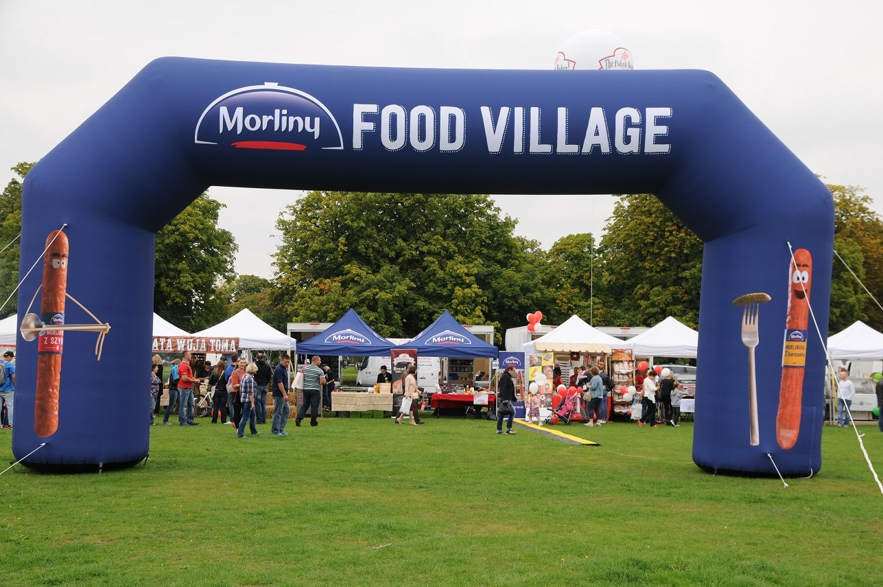 Advertising Inflatable Arch, 8x4 m Printing UK, Next Day Delivery - www.ontimeprint.co.uk