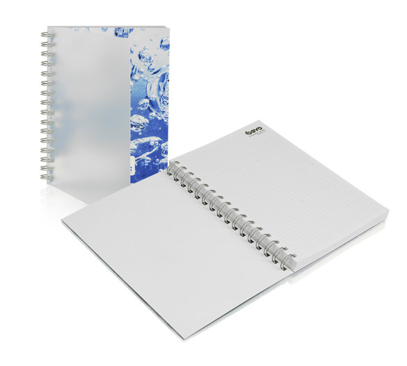 Wiro Bound Softcover Notebook (frosted PP cover)