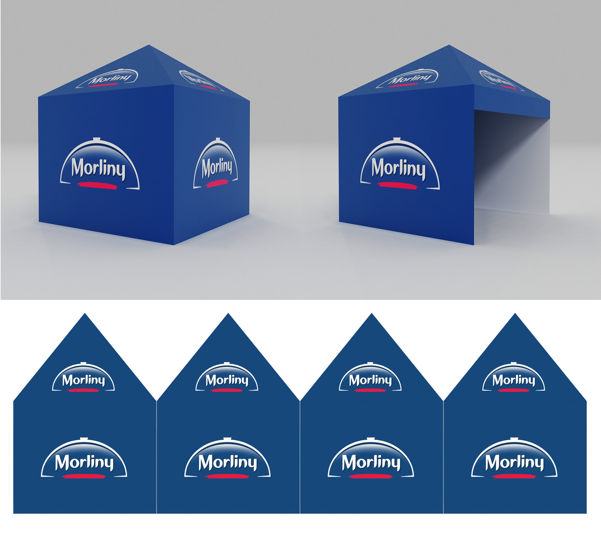 Premium Pop Up Promotional Tents Printing UK, Next Day Delivery - www.ontimeprint.co.uk