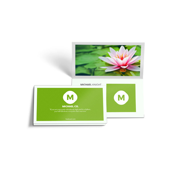 Half folded business cards free delivery from 1875 half folded business cards printing uk next day delivery ontimeprint colourmoves