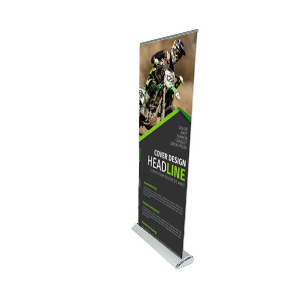 Premium Roller Banners Rollup delta Printing UK, Next Day Delivery - www.ontimeprint.co.uk