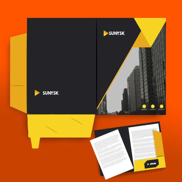 Folders-interlocking Printing UK, Next Day Delivery - www.ontimeprint.co.uk