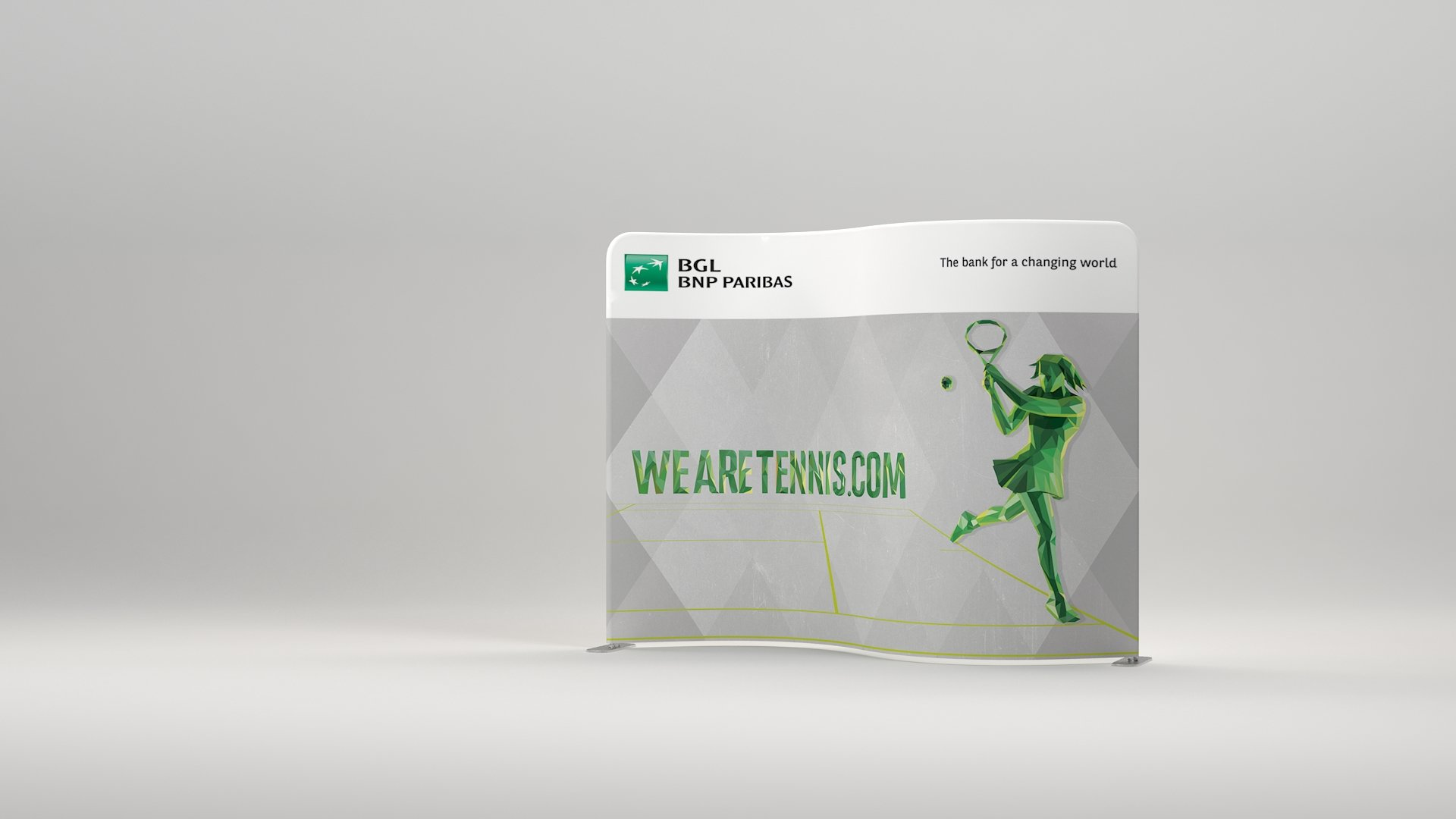 Presto serpentine event stand fabric  Printing UK, Next Day Delivery - www.ontimeprint.co.uk