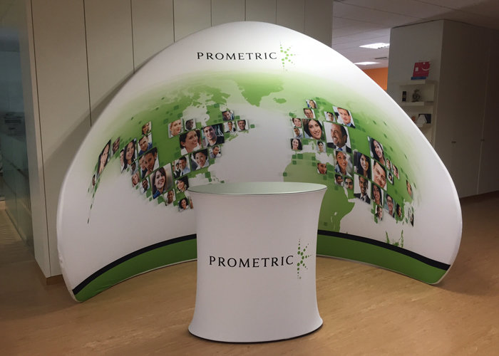Presto Peak Fabric Stand Printing UK, Next Day Delivery - www.ontimeprint.co.uk