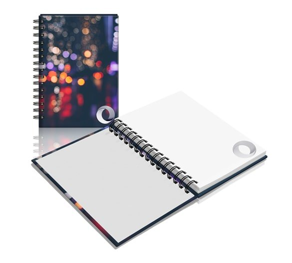 Wiro Bound Hardcover Notebook