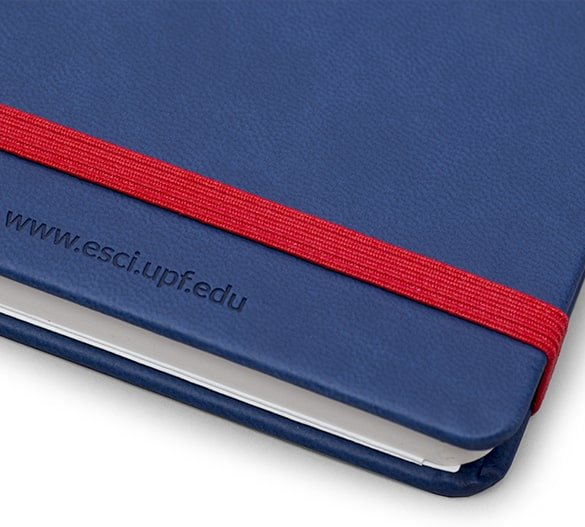Elegant Hardcover Soft Touch Notebook