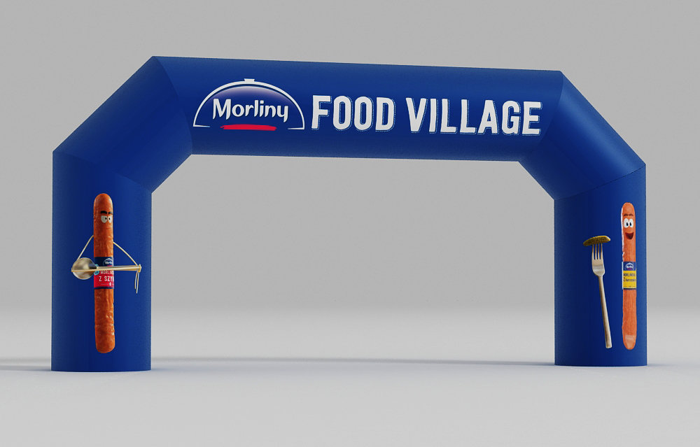 Advertising Custom Inflatable Gate Printing UK, Next Day Delivery - www.ontimeprint.co.uk