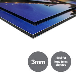 Dibond Boards 3mm Printing UK, Next Day Delivery - www.ontimeprint.co.uk