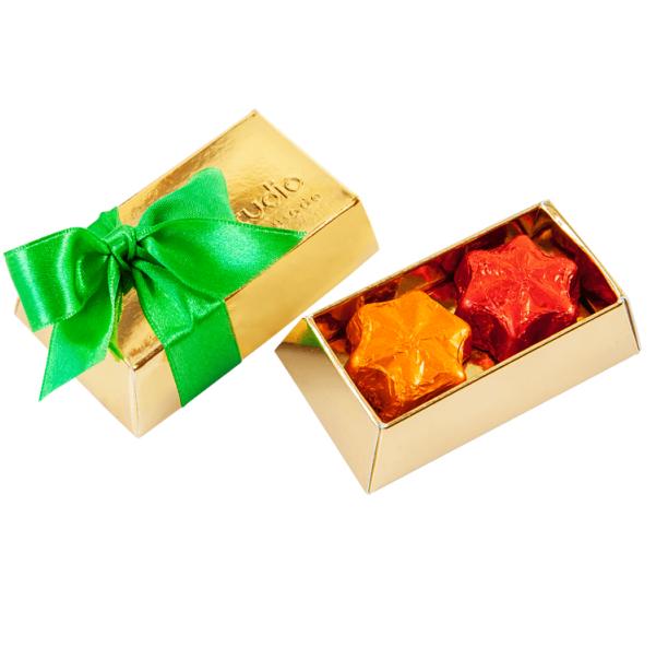 Small Brick with Chocolate Stars