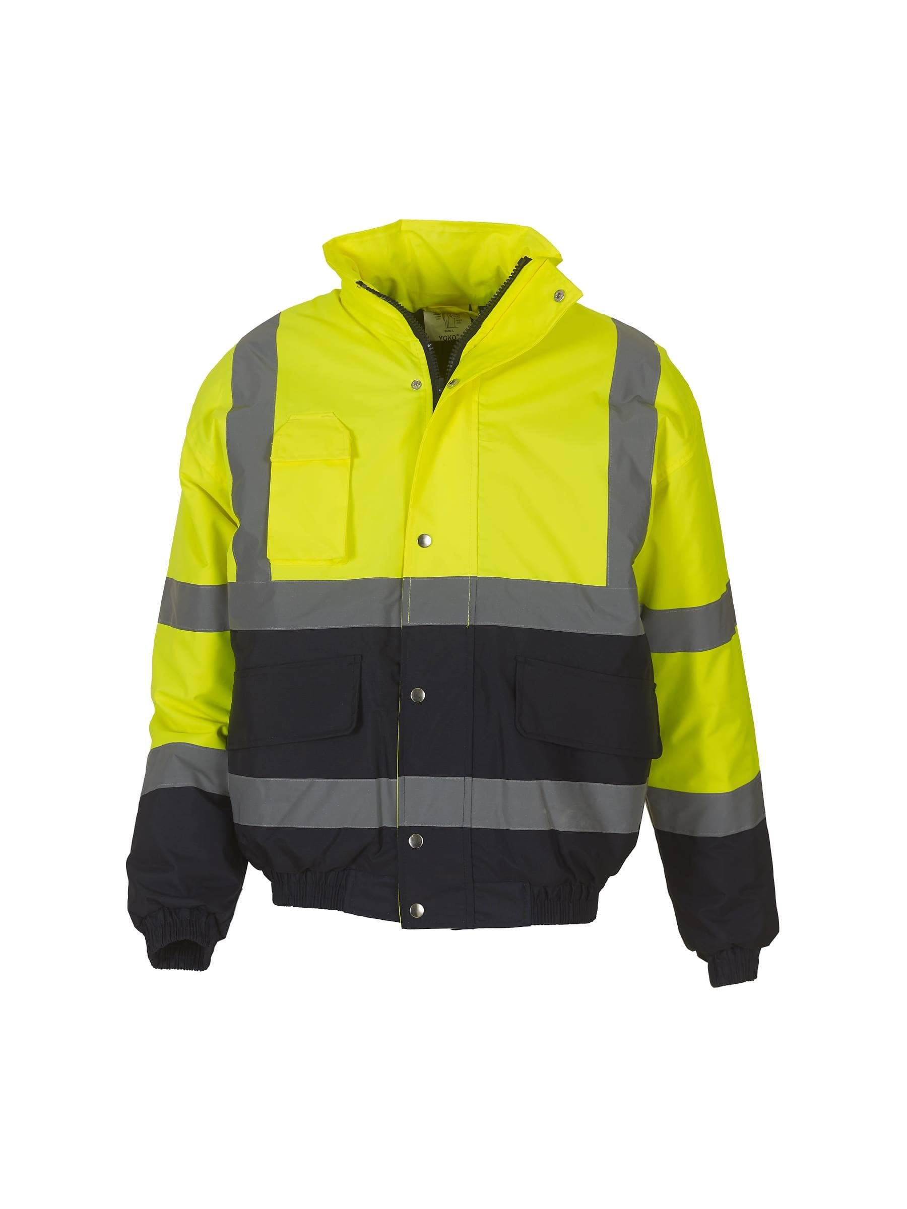 Hi-Vis Two Tone Bomber Jacket (HVP218 )