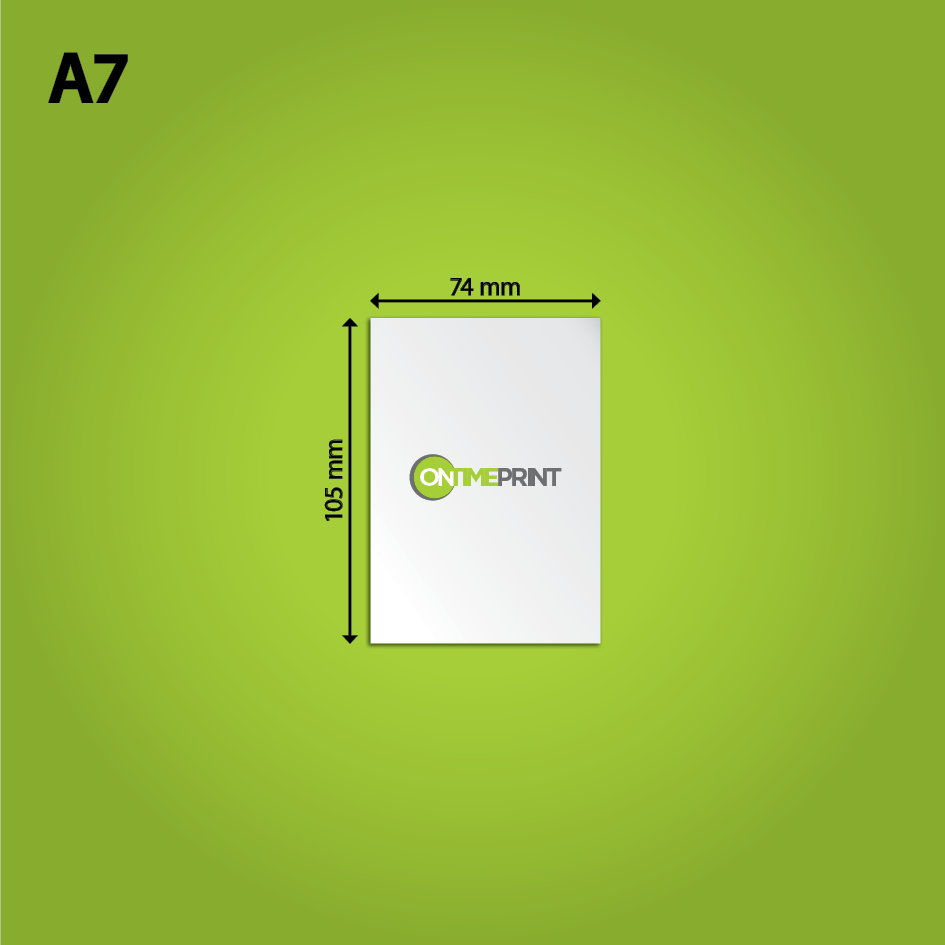 Cheap A7 flyers Printing, FREE Next Day Delivery- OnTime Print