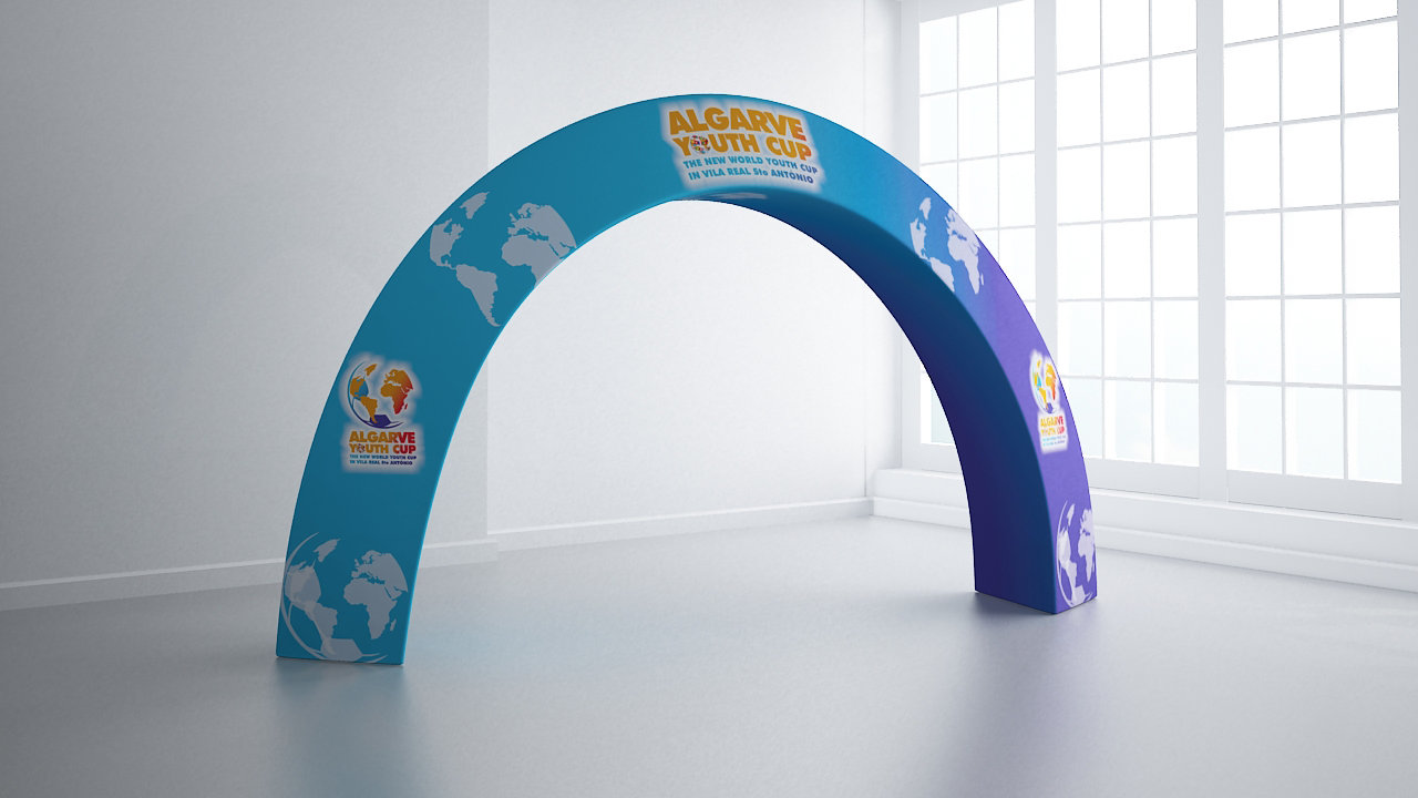 Presto Gate fabric event display  Printing UK, Next Day Delivery - www.ontimeprint.co.uk