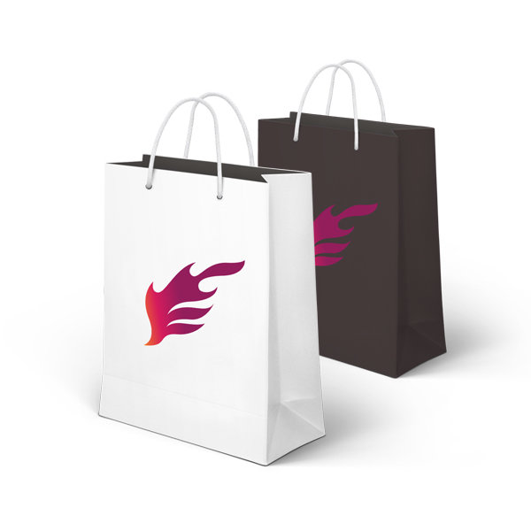 Premium Full Colour Printed Paper Bag Printing UK, Next Day Delivery - www.ontimeprint.co.uk
