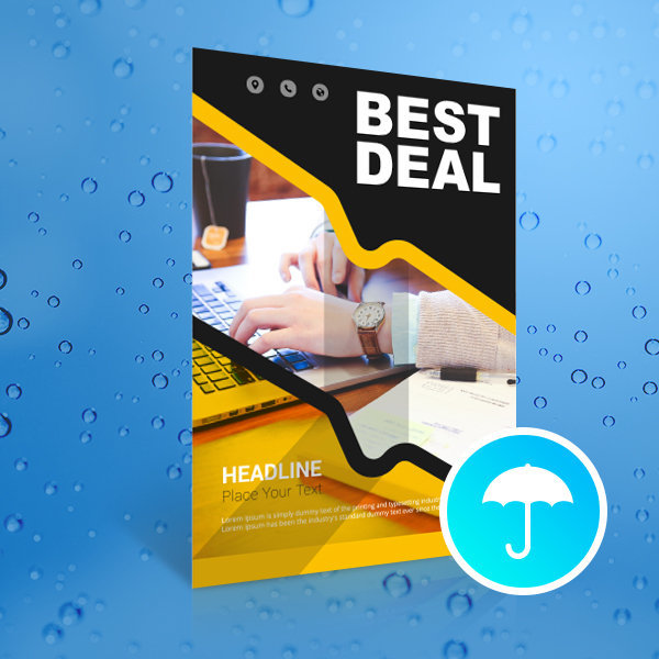 Waterproof Outdoor Posters Printing UK, Next Day Delivery - www.ontimeprint.co.uk