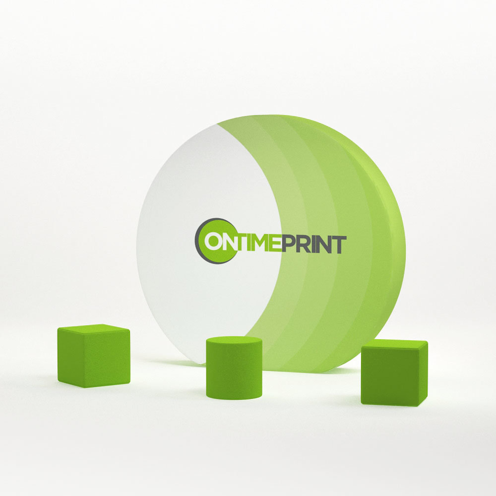 Exhibition Display Kit- Presto Ring Fabric Display & Foam Seats- www.ontimeprint.co.uk